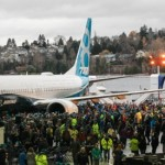 Boeing Debuts First 737 MAX 8
