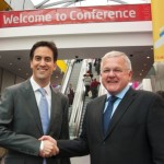 ACC Liverpool takes centre stage for the official welcome of Labour Party Conference 2011