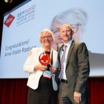 ANNE WALLIN RØDVEN RECEIVES IBTM WORLD 2015 LIFETIME ACHIEVEMENT AWARD