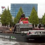 Amsterdam RAI chooses sustainable freight transport via boat