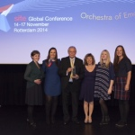 Another first for IMEX as staff delight at receiving Site's Richard Ross Award