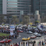 Dubai Motor Festival Grand Parade 2014 registrations soar