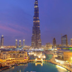 Dubai welcomed more than 10 million tourists for the first time in 2012