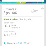 Emirates becomes the first Airline in the Middle East to use Google Now™
