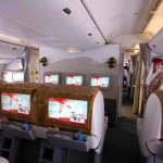 Emirates reveals new industry-leading screens for its inflight entertainment system, ice digital widescreen