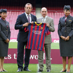 FC Barcelona and Qatar Airways, a team that unites the world