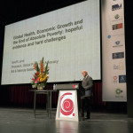 The Graeme Clark Oration at MCEC: an end to global poverty?