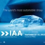 IAA 2013 – Competence in automobile made by VOK DAMS