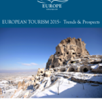 International Tourist Arrivals to Europe Increased by 5% in 2015