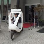 Jumeirah Frankfurt launches 'Velotaxi' service