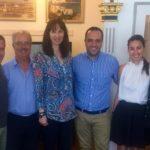 Συνάντηση Αν. Υπουργού Τουρισμού κας Έλενας Κουντουρά με τον Δήμαρχο της Μυκόνου για την ενίσχυση του τουριστικού προϊόντος του νησιού