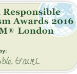 World Responsible Tourism Awards 2016 at WTM London kick off 20th year of ethical tourism