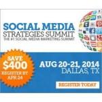 Social Media Strategies Summit Dallas 2014