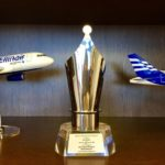 "Ellinair was awarded as the ""Best new entrant performance, based on scheduled passenger traffic"" by Athens International Airport ""Eleftherios Venizelos""!"