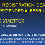 "Win gold with ""Tracie""… or a presentation screen at ITB CINEMA !"