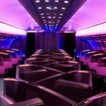"New ""Upper Class Suite"", the Longest Full Flat Bed in Business Class"