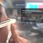 First Google Glass application for event moderators introduced at #FRESH14 #eventprofs