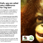 International meetings community supports endangered orangutans in ICCA Congress destination